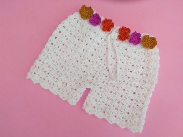 4 -Crochet Imagen Shorts de verano a crochet y ganchillo por Majovel Crochet