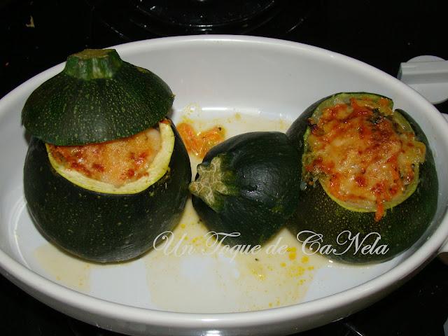 Calabacetas Vegetarianas