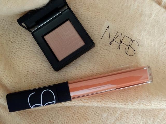 NARS SPring 2016 Color Collection Vida Loca Lip Gloss and Kari Dual Intensity Eyeshadow
