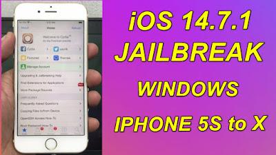 Jailbreak iOS14.7.1Windows JailbreakJailbreak iPhone-iPad-iPod & Install Cydia.