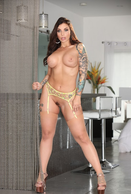 Ivy Lebelle naked big boobs pussy