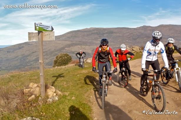 BTT en la Sierra de San Bernabé en el Valle del Jerte
