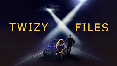 Twizy X-Files, la nouvelle peau de la Vie en Twizy