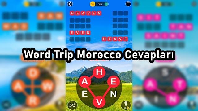 Word Trip Morocco Cevaplari