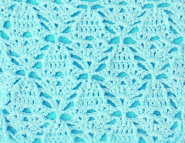 6 - Crochet Imagenes Puntada de piñas a relieve a crochet y ganchillo por Majovel Crochet