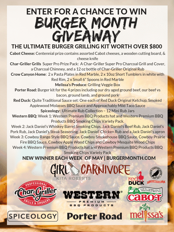 Girl Carnivore giveaway