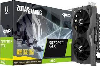 Zotac GTX 1660 6gb graphics card