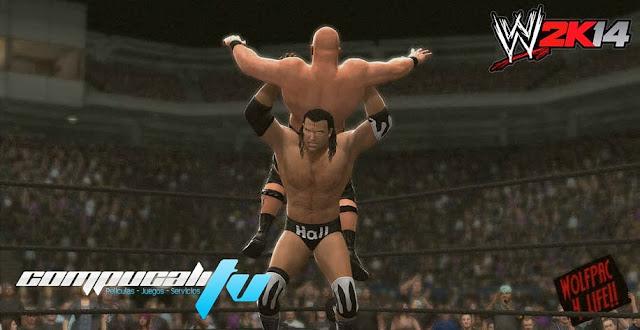 WWE 2k14 Xbox 360 Español Región Free XGD3