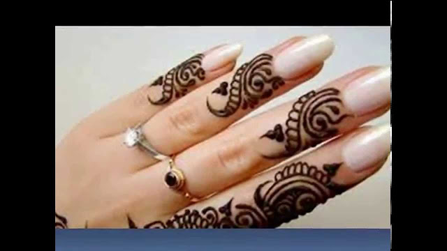 New Mehndi Design Like Engraving