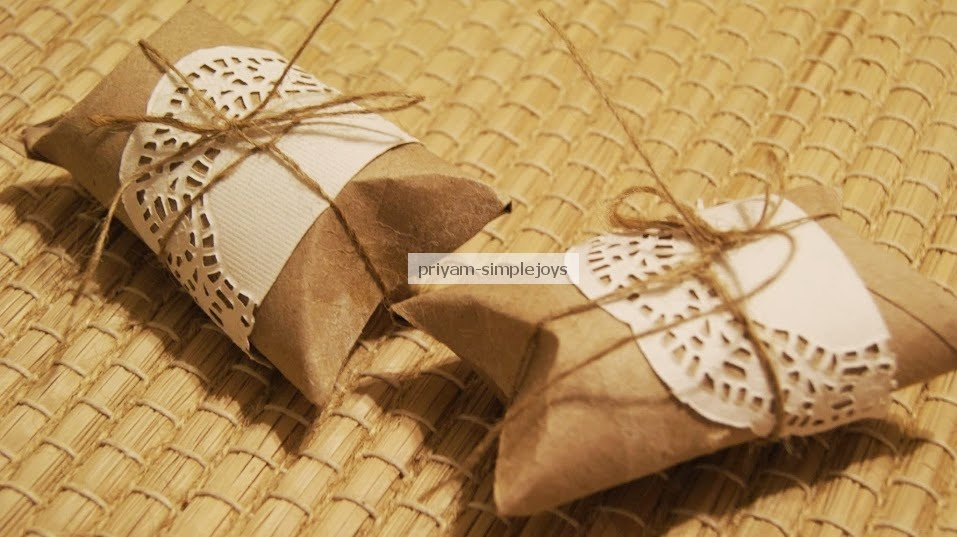 Simplejoys Recycling Tissue Paper Roll To Favor Boxes