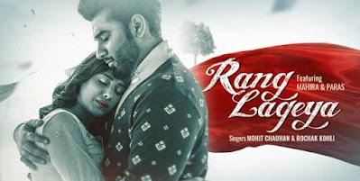 Rang Lageya Song Lyrics In English