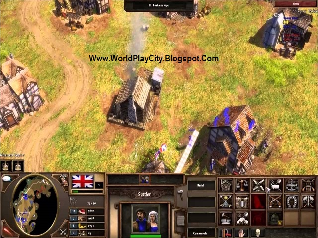 Age of Empires III pc game with crack free download full