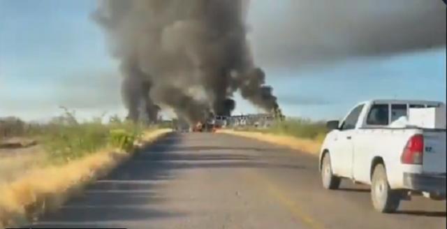 Video: Enfrentamientos en La Tubutama y Caborca, Sicarios contra Guardia Nacional deja varios muertos