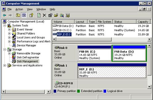 Adding storage to TSM FB repository