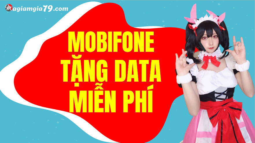 Nhận data miễn phí MobiFone, Cách nhận GB miễn phí MobiFone