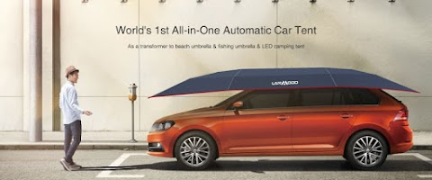 The Lanmodo Automatic Car Tent