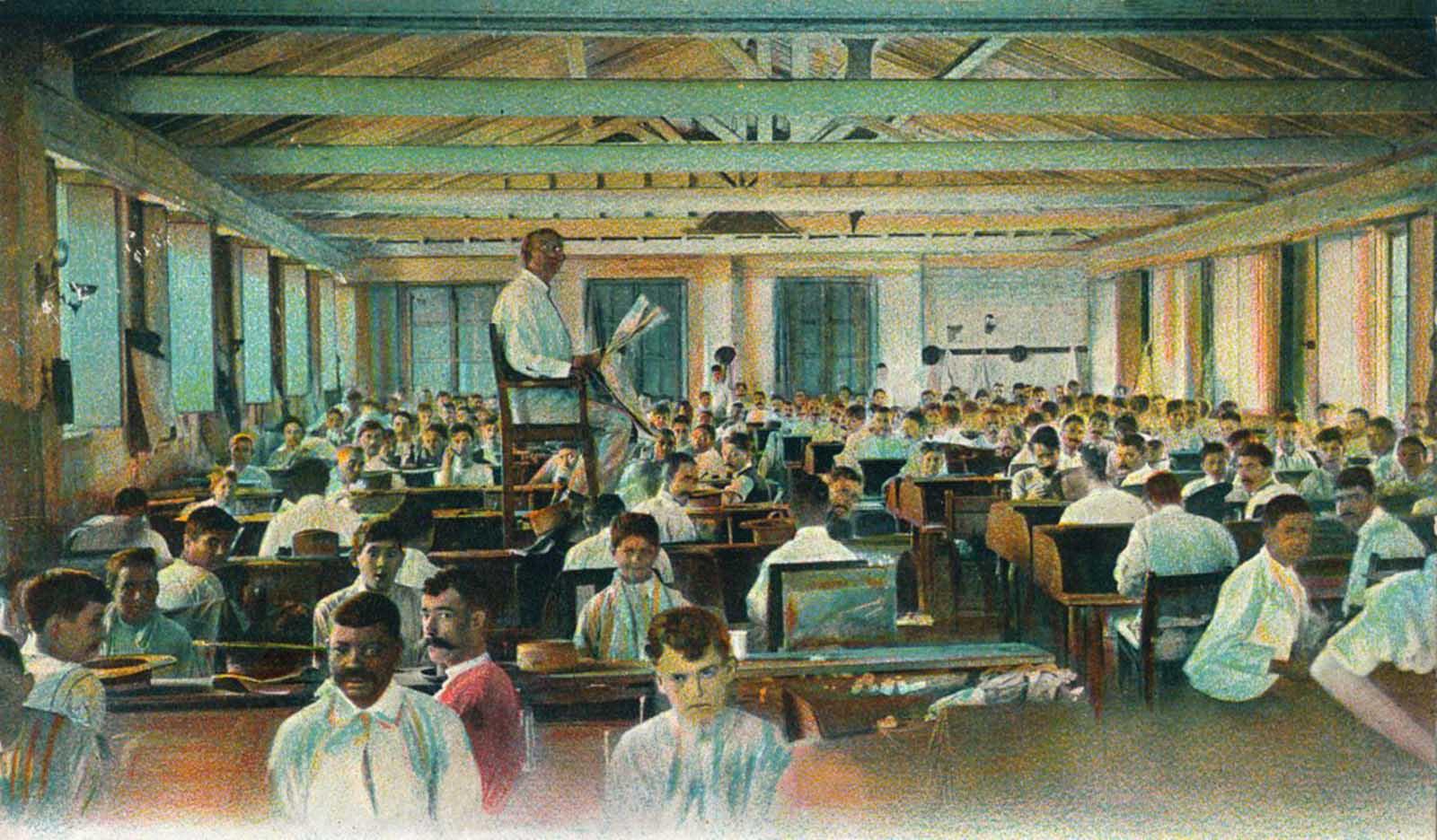 Tobacco Factory Lectors 1910