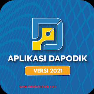 LINK ALTERNATIF DOWNLOAD APLIKASI DAN PANDUAN DAPODIK VERSI 2021