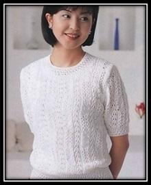женский пуловер спицами (44)