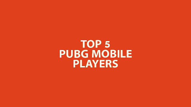 Top 5 Pubg Mobile Players