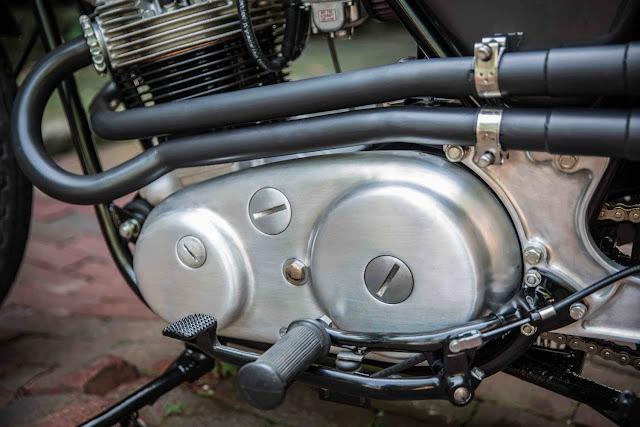Norton Commando 1974 By The Gas Box Hell Kustom
