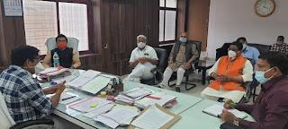 22 जनवरी को मुख्यमंत्री शिवराजसिंह चौहान का दौरा प्रस्तावित, शहर विकास को लेकर की कलेक्टर से चर्चा