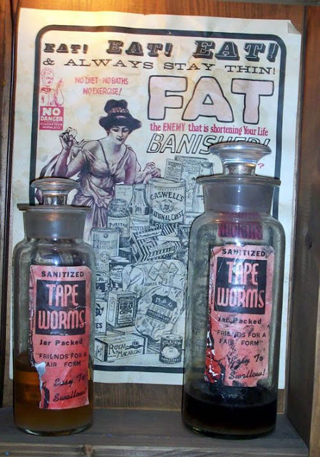 Tapeworms diet