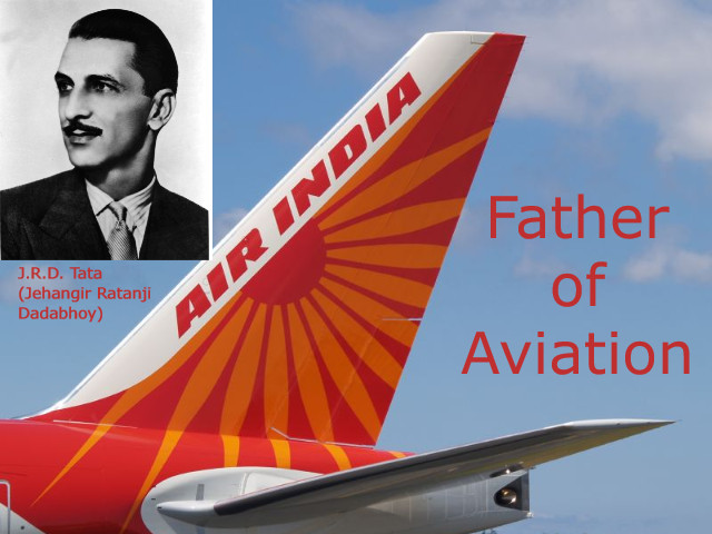 J.R.D Tata - Father of Aviation & One of the Pioneering Industrialists of India
