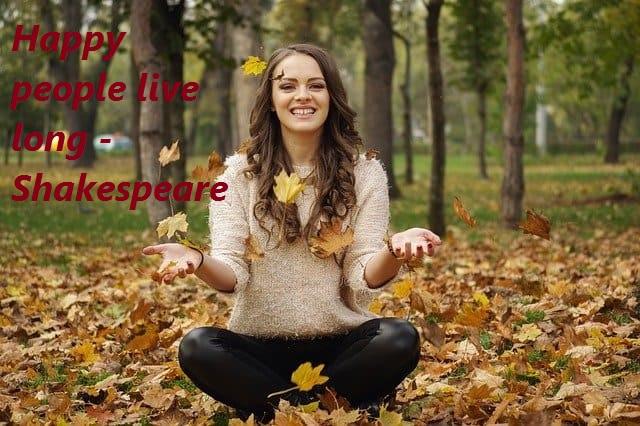 happy people, live long