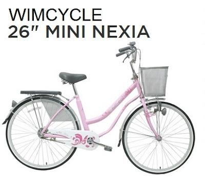 Sepeda Mini Wimcycle Nexia 24 atau 26