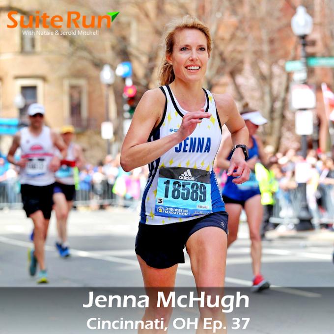 37 | Cincinnati, OH with Jenna McHugh: Running In the Queen City