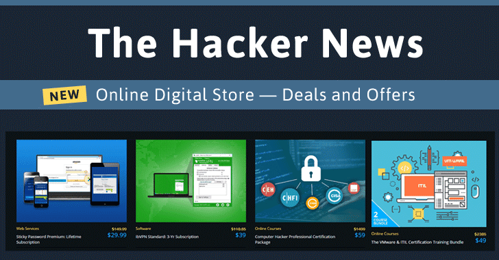 The Hacker News launches Online Deals Store – Get Best Deals & Offers