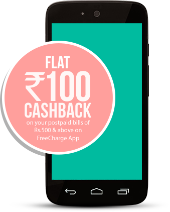 Freecharge coupons for postpaid bill payment