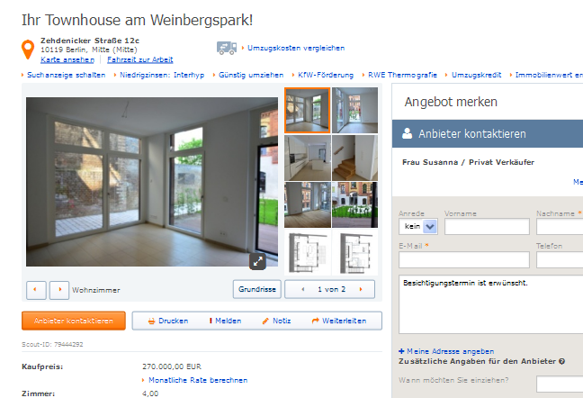 besondere immobilie berlin