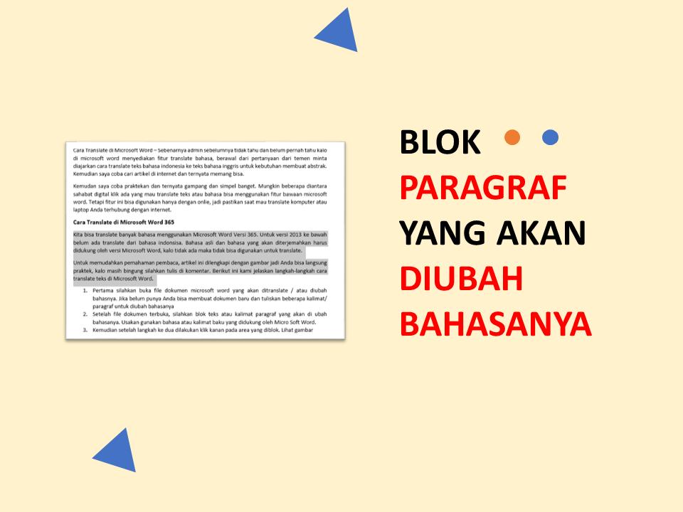 Cara Mudah Translate di Microsoft Word - DIGITAL KLIK