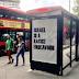 LONDRES: CARTELES ANTIISRAELIES EN PARADAS DE COLECTIVOS