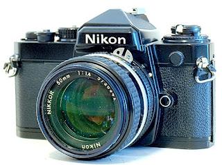 Nikon FE, Front View