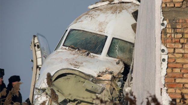 Passenger plane crashes in Kazakhstan killing at least 14