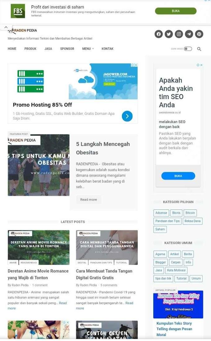 Radenpedia.com Berbagi Artikel Menarik