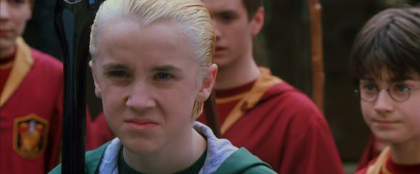 Драко Малфой в Хари Потър и стаята на тайните