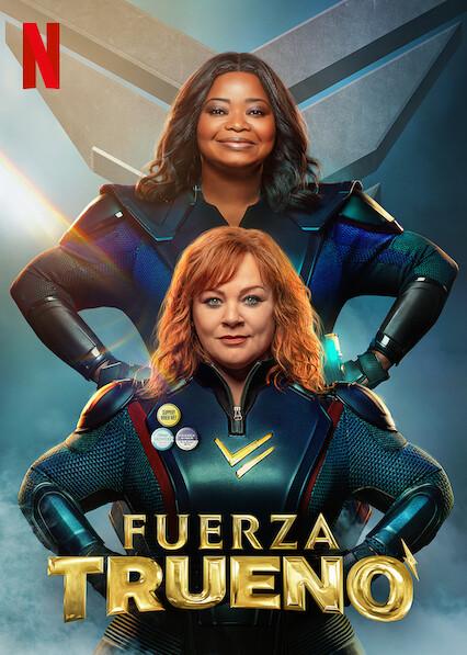 Thunder Force (2021) NF WEB-DL 1080p Latino