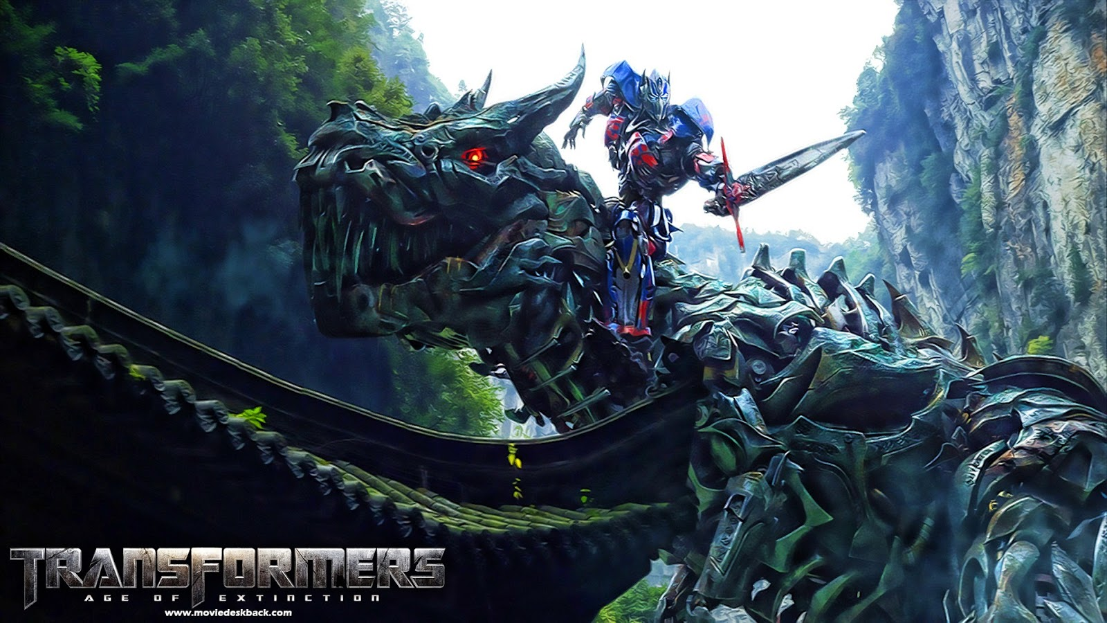 Wallpapers 3d Art Transformers Age Of Extinction Ultra View Imaging