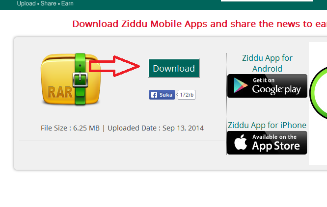 Cara Download File Di Ziddu