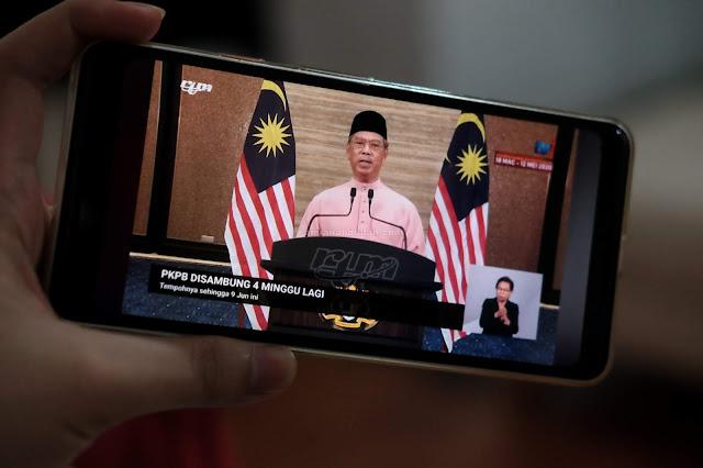 PKPB akan dilanjutkan selama 4 minggu sehingga 9 Jun 2020
