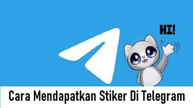 Cara Mendapatkan Stiker Di Telegram