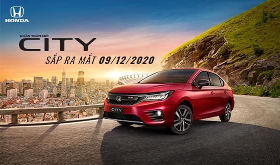 Honda City 2020 sắp ra mắt| Đặt trước Honda City 2020 nhận xe tháng 01/2021