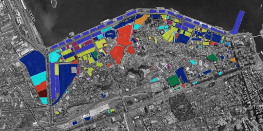 figura 03 - Mapa Porto Maravilha terrenos
