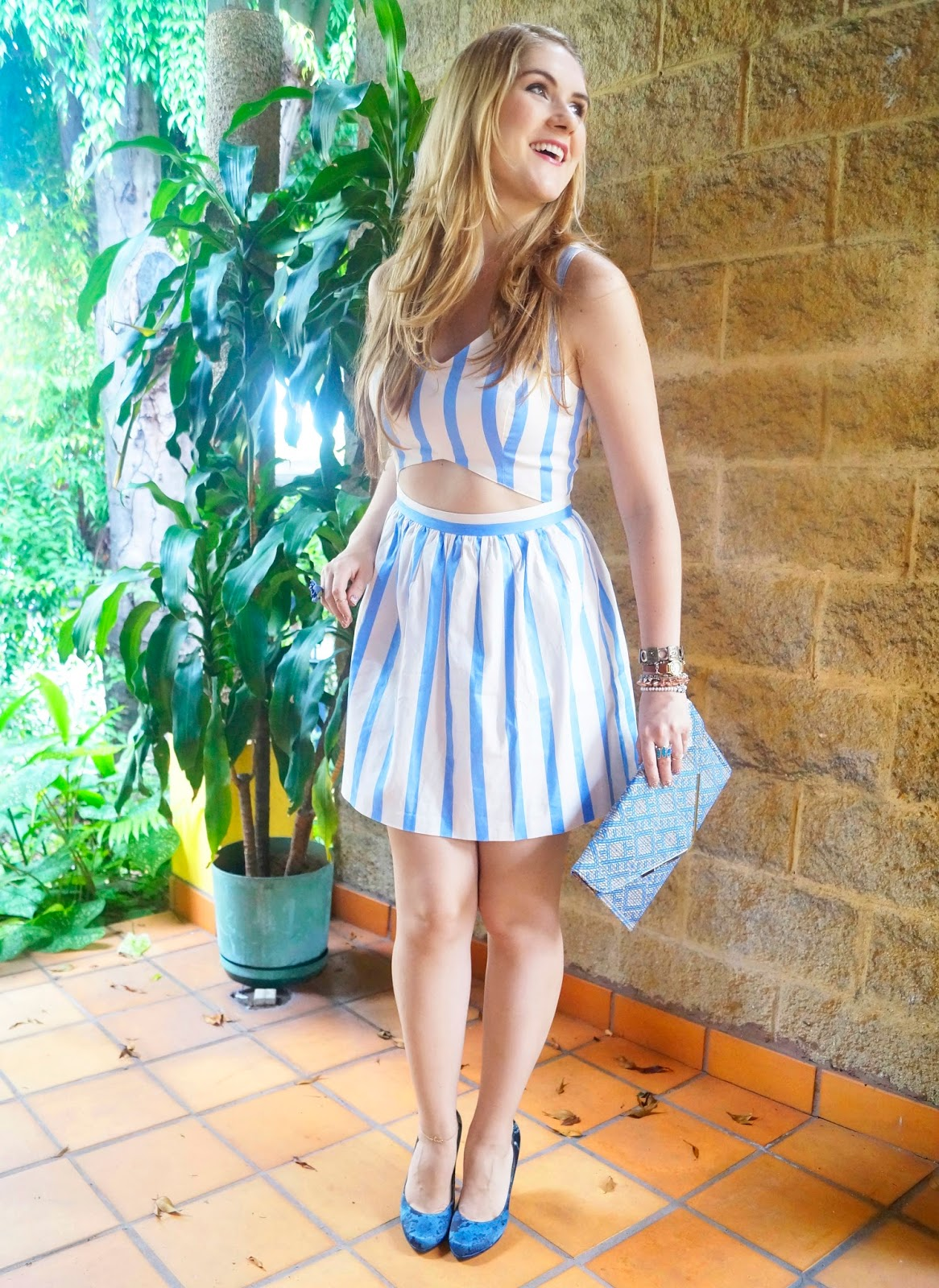 Summer Striped Dress from Forever21