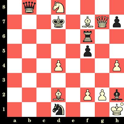 Les Blancs jouent et matent en 4 coups - Predrag Nikolic vs Stefan Djuric, Yougoslavie, 1983
