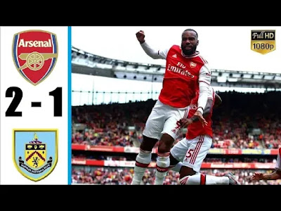 Arsenal vs Burnley 2-1 All Goals And Match Highlights [MP4 & HD VIDEO]